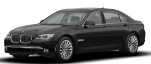 Luxury Sedan BMW 750 LI - Redding Car Service